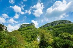 莫利纳瀑布公园风景  免版税库存照片