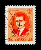 莫哈末礼萨Shah巴列维(1919-1980), serie,大约1966年 库存照片