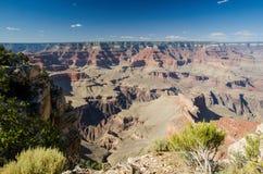 莫哈维族点俯视,大峡谷 免版税库存图片
