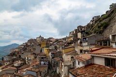 莫塔卡马斯特拉看法从Corso翁贝托的 免版税库存图片
