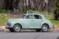 1950年莫妮斯牛津轿车 免版税库存图片