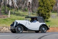 1938年莫妮斯8/40跑车 图库摄影