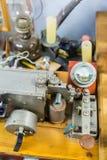 莫尔斯电通信机 库存图片