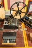 莫尔斯电通信机 库存照片