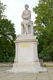莫尔特克` s纪念碑在公园大Tirgarten 柏林德国 免版税库存图片