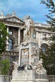 莫扎特纪念碑 图库摄影