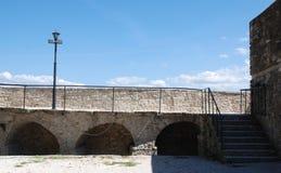 莫托文市墙壁 免版税库存图片