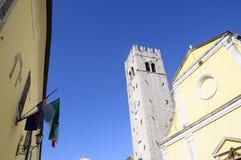 莫托文村庄在克罗地亚,欧洲 免版税库存图片