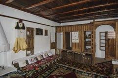 莫斯塔尔,波斯尼亚黑塞哥维那,欧洲,土耳其房子 图库摄影