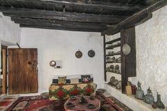 莫斯塔尔,波斯尼亚黑塞哥维那,欧洲,土耳其房子 免版税库存图片