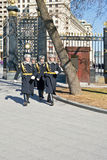 莫斯科。无名英雄墓 免版税库存图片
