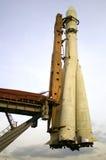 莫斯科俄国太空飞船沃斯托克 免版税库存图片