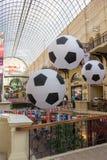 莫斯科俄国 城市的装饰世界杯的2018年 库存照片