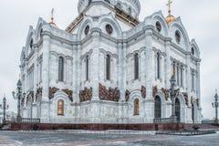 莫斯科俄国 大教堂基督救主 免版税库存照片