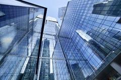 莫斯科俄国 摩天大楼 结构商务中心例证主题 柏林大厦办公室 免版税库存图片