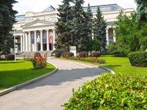 莫斯科俄国 普希金状态波士顿美术馆看法  库存照片
