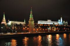 莫斯科克里姆林宫。 免版税库存图片