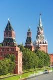 莫斯科克里姆林宫塔  免版税库存照片