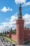 莫斯科克里姆林宫视图 库存照片