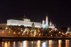 莫斯科克里姆林宫,俄国的视图 库存照片