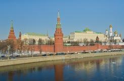 莫斯科克里姆林宫,俄国 免版税库存照片