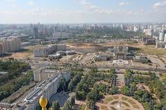 莫斯科全景 免版税库存照片