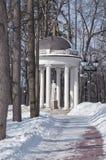 莫斯科公园summerhouse tsaritsino 库存照片
