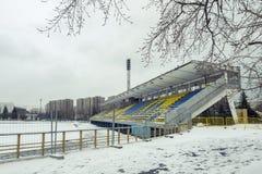 莫斯科冬天 免版税库存照片