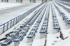 莫斯科冬天 库存图片
