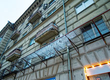 莫斯科冬天 库存照片