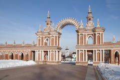 莫斯科博物馆预留tsaritsino 免版税库存图片