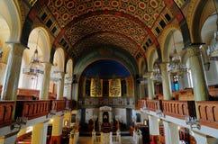 莫斯科诗歌犹太教堂 图库摄影