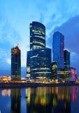 莫斯科商务中心 库存照片