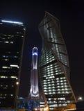 莫斯科国际商业中心莫斯科城市 免版税库存照片