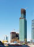 莫斯科国际商业中心 库存照片