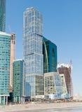 莫斯科国际商业中心 免版税库存图片
