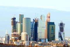 莫斯科国际商业中心(MIBC) 免版税图库摄影