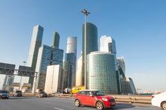 莫斯科国际商业中心MIBC 免版税库存照片