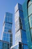 莫斯科国际商务中心,莫斯科城市 免版税库存照片