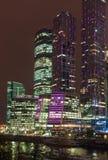 莫斯科国际商务中心 库存图片
