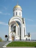 莫斯科圣乔治教会在一个晴天2011年 库存照片