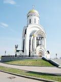 莫斯科圣乔治教会2011年5月 库存照片