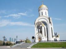 莫斯科圣乔治教会2011年 免版税库存照片