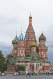 莫斯科圣徒蓬蒿大教堂在克里姆林宫 免版税图库摄影