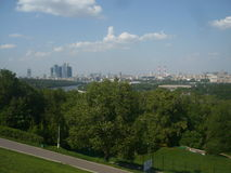 莫斯科在夏天 图库摄影
