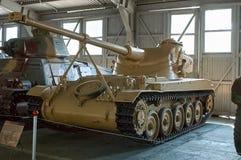 莫斯科地区,俄罗斯- 2006年7月30日:AMX-13法国轻型坦克 免版税库存照片