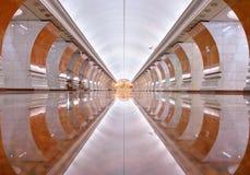 莫斯科地铁 免版税库存图片
