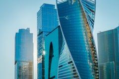 莫斯科城市在莫斯科 库存图片