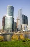 莫斯科城市,俄罗斯 库存照片