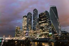 莫斯科城市 免版税库存图片